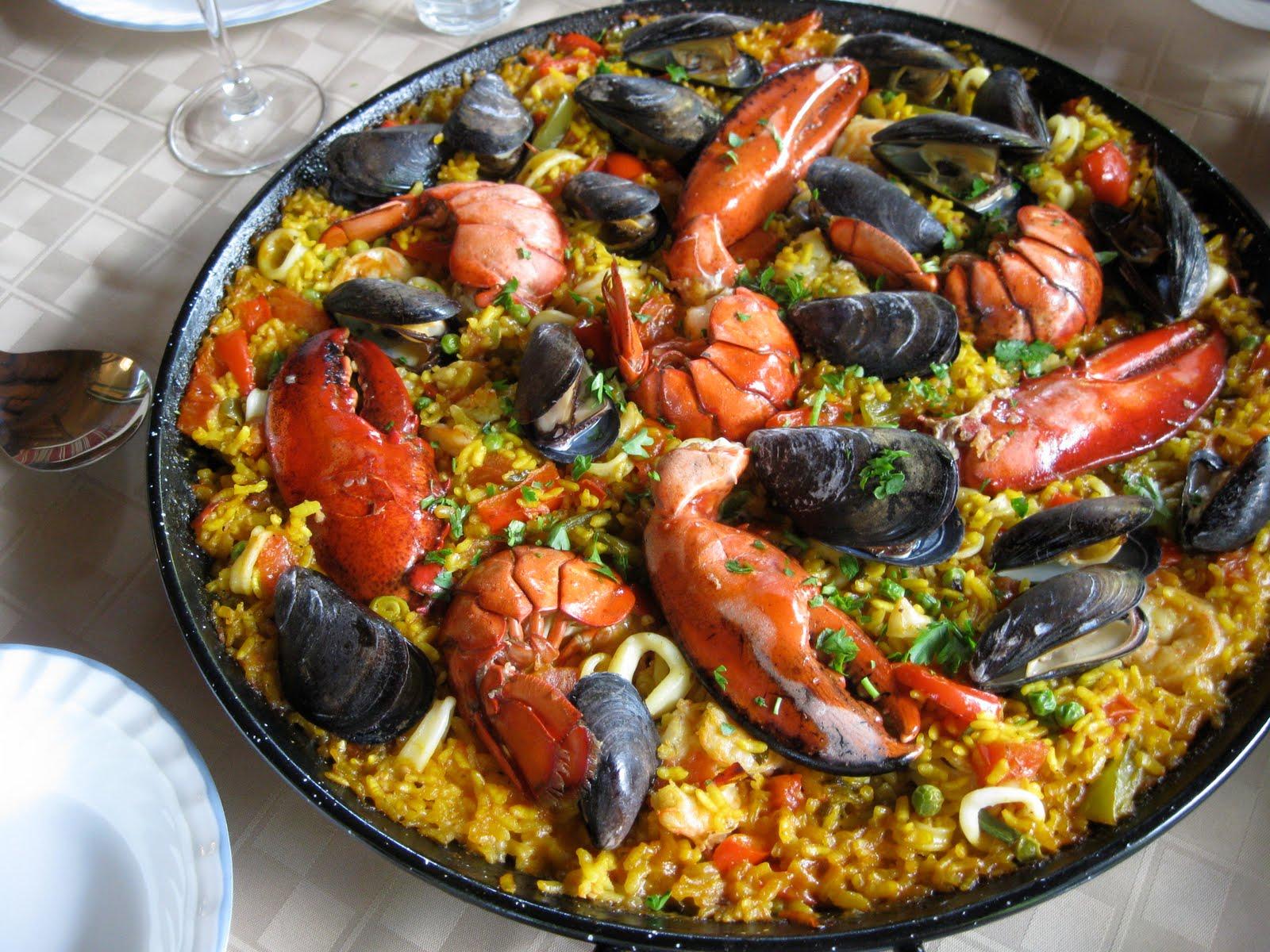 Seafood Paella - Janella Purcell